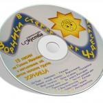 """Аудио диск с 15 песни на център """"Зорница"""""""